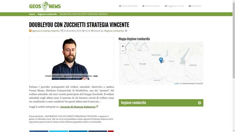 Geos News - DoubleYou con Zucchetti strategia vincente