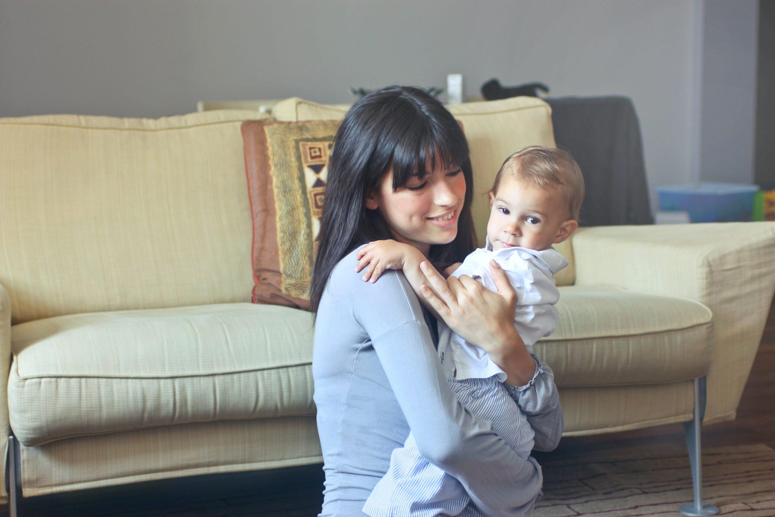 mamma con bebè